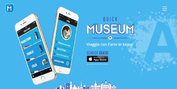 QuickMuseum, l'App per viaggiare con l'arte in tasca