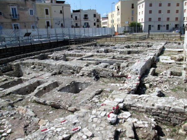 area archeologica di san pietro bari
