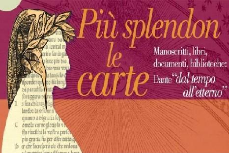 Più Splendon le Carte, Dante in mostra a Torino