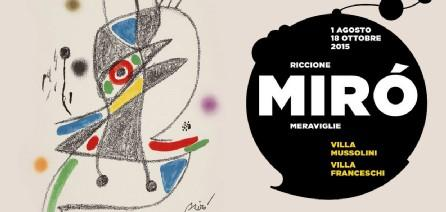 Joan Miró in mostra a Riccione fino ad ottobre