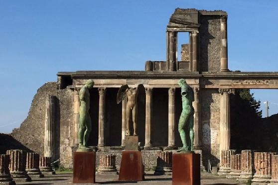 Lo scultore Igor Mitoraj e il sogno pompeiano