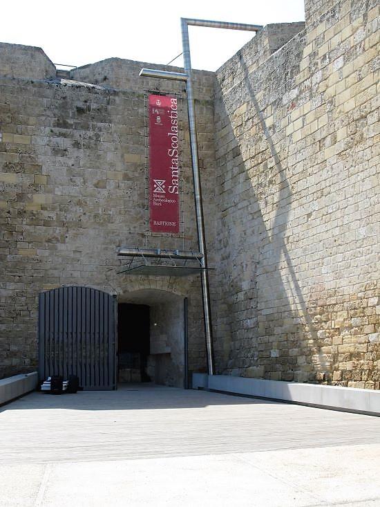santa scolastica museo bari