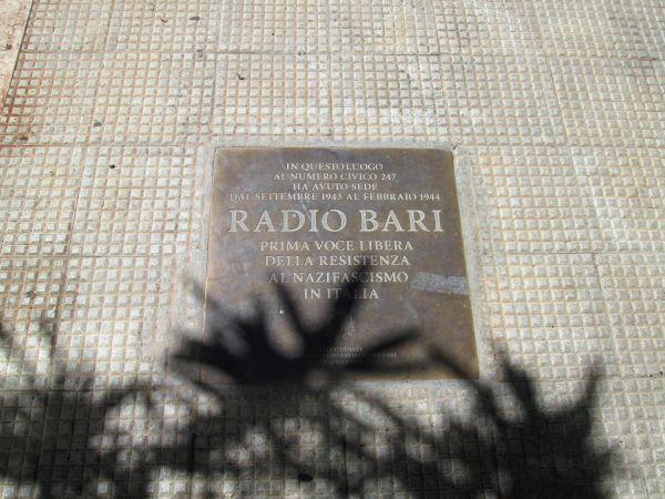 radio bari resistenza