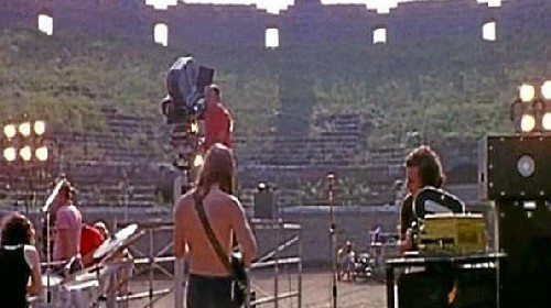 Live@Pompei: i Pink Floyd ritornano a Pompei