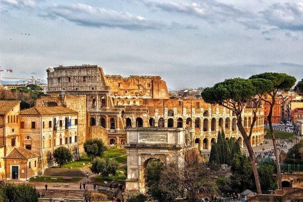 roma capitale d'italia 150 anniversario