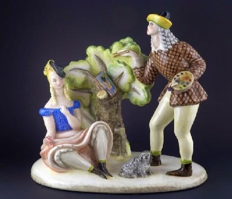 Le ceramiche Lenci in mostra a Torino