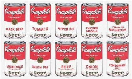 Cibo e arte, i capolavori dal '600 a Warhol