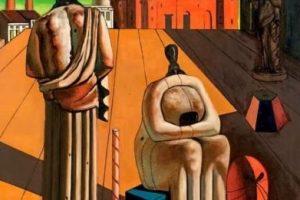 la pittura metafisica di giorgio de chirico a pisa
