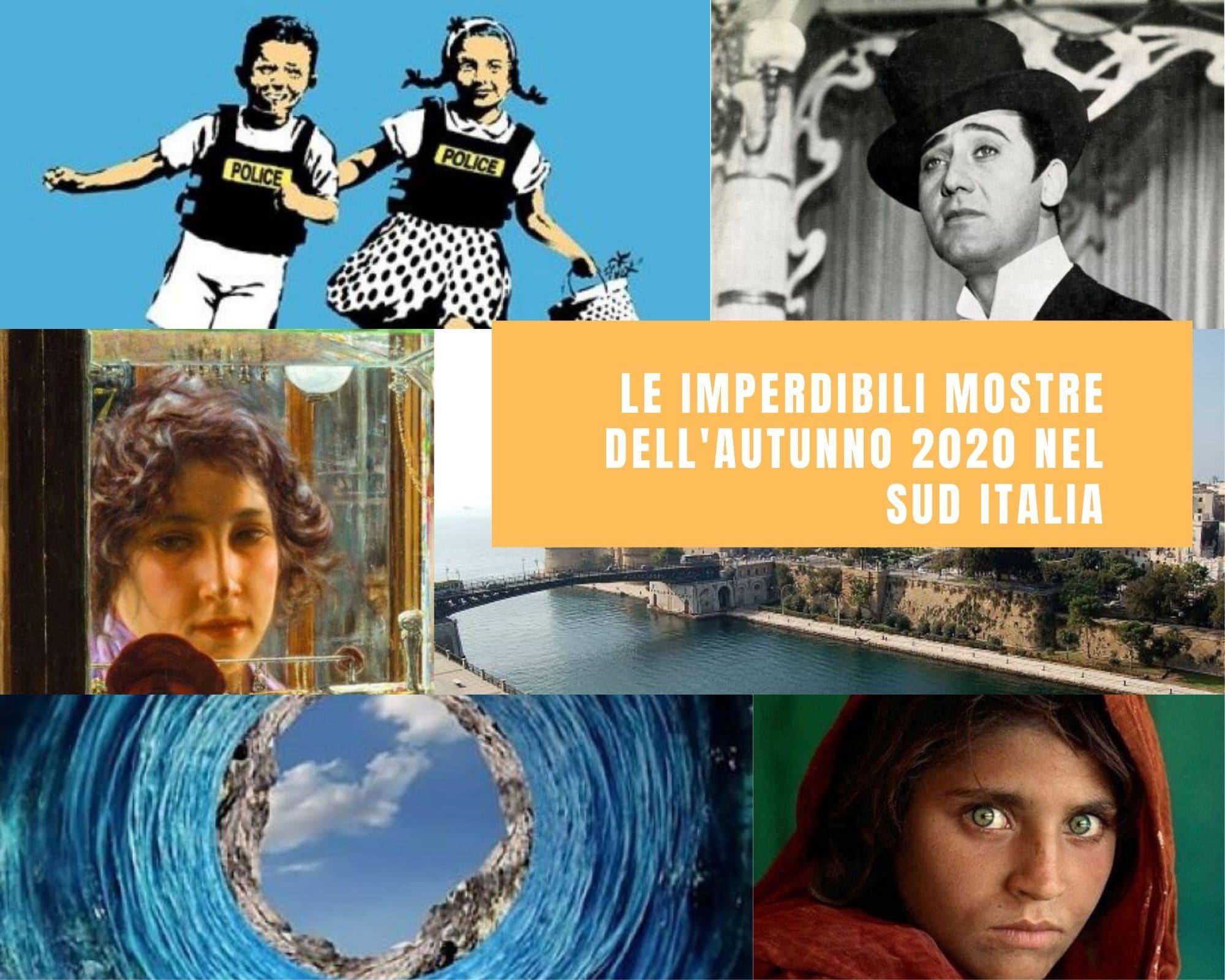 Le imperdibili mostre dell'autunno 2020 nel Sud Italia