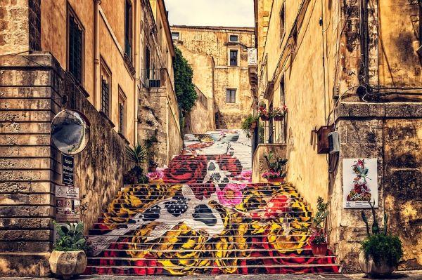 il fascino artistico della sicilia
